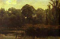 Pond, 1880, kramskoy