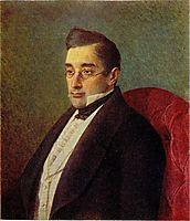 Portrait of Alexandr Griboyedov, kramskoy