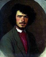 Portrait of an agronomist M.E. Vyunnikov, 1868, kramskoy