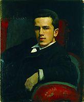 Portrait of Anatoly Kramskoy, the Artist`s Son, 1882, kramskoy