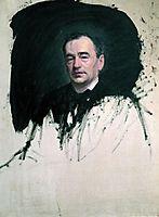 Portrait of Dr. Karl A. Rauhfus , 1887, kramskoy