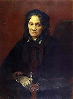 Portrait of Ekaterina Kornilova, 1880, kramskoy