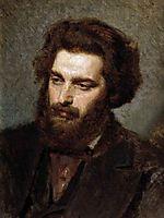 Portrait A.I.Kuindzhi , 1872, kramskoy