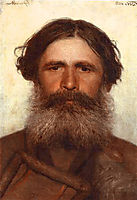 The Portrait of a Peasant, 1868, kramskoy