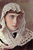 Portrait S.I. Kramskoy , c.1880, kramskoy