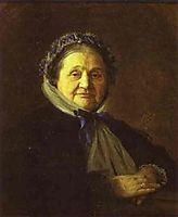 Portrait of V Voyeykova, 1867, kramskoy