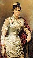 Portrait of a Woman, kramskoy