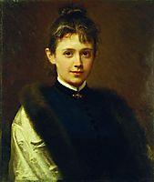 Portrait of a Woman, 1884, kramskoy