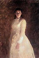 Portrait of a Woman, c.1880, kramskoy