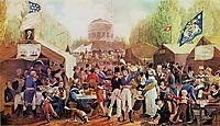 4th of July 1819 in Philadelphia, krimmel