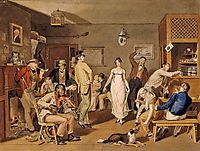 Barroom Dancing, 1820, krimmel