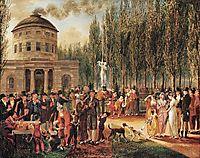 Fourth of July in Centre Square Philadelphia, 1812, krimmel