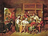 In an American Inn, 1814, krimmel