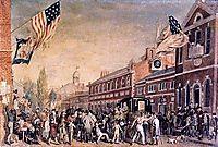 Philadelphia Election Day, 1815, krimmel