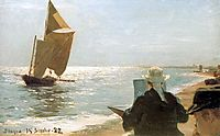 Artists on the Beach, 1882, kroyer