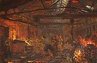 Burmeister and Wain Iron Foundry, 1885, kroyer