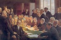 Committee for the French Art Exhibition in Copenhagen, 1888, kroyer