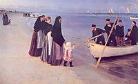 Fishermen at Skagen, 1894, kroyer