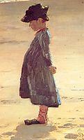 Girl on the Beach, 1884, kroyer