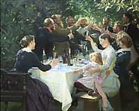 Hip, Hip, Hurrah!, 1888, kroyer