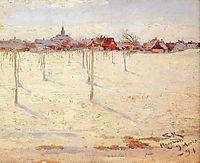 Hornbaek in Winter, 1891, kroyer