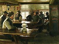 Interior of a Tavern, 1886, kroyer