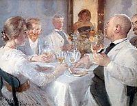 Luncheon at Antino, kroyer