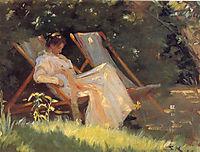 Marie in the Garden, 1893, kroyer