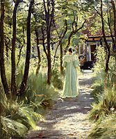 Marie in the Garden, 1895, kroyer