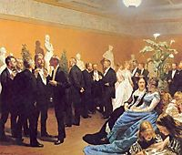 Meeting at the Museum, 1888, kroyer