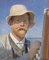 Self-Portrait, 1888, kroyer