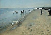 Summer Day on Skagen-s Southern Beach, 1884, kroyer