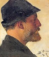 Viggo Johansen, 1887, kroyer