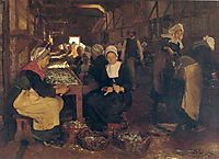 Women of Concarneau, 1879, kroyer