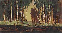 A Birch Grove, kuindzhi
