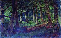 A Birch Grove, c.1880, kuindzhi