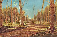 A Birch Grove, c.1880, kuindzhi