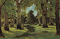 A Birch Grove, c.1908, kuindzhi