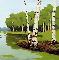 Birches, 1879, kuindzhi