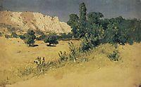 Crimea. Yayla, c.1890, kuindzhi