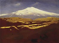 Elbrus in the daytime, c.1900, kuindzhi