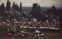 Flower Garden. Caucasus, 1908, kuindzhi