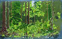 Forest , 1887, kuindzhi
