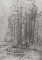 Forest landscape, kuindzhi