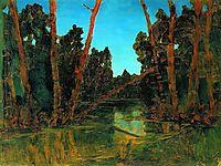 Forest swamp, c.1908, kuindzhi