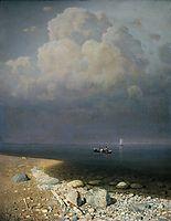 Lake Ladoga, 1873, kuindzhi