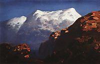 Mountains, c.1895, kuindzhi