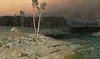 On a Valaam Island, 1873, kuindzhi