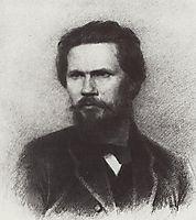Portrait of Ivan Kramskoi, kuindzhi