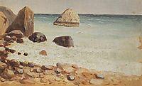 Rocky seashore. Crimea, kuindzhi